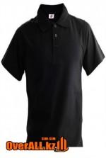Черная футболка поло