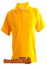 Желтая футболка пол