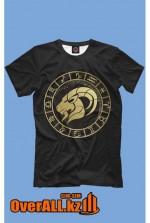 Печать логотипов флексографией на одежде