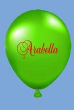 Нанесение логотипов на шарики
