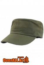 Милитари кепка цвета хаки