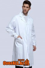 Лабораторный халат, белый