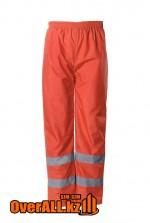 Оранжевые сигнальные брюки