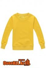 Детская желтая толстовка-свитшот