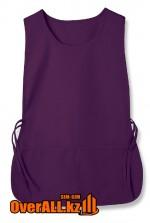 Фартук-накидка фиолетовый