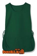 Фартук-накидка зеленый