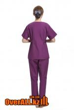 Женский фиолетовый медкостюм