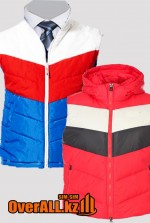 Зимние утеплённые жилеты хорошего качества на заказ.