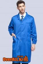 Лабораторный халат, синий