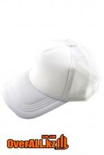 Промо кепка белого цвета