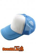 Голубая промо бейсболка