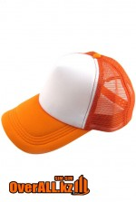 Оранжевая бейсболка под печать логотипа