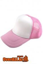 Розовая бейсболка с нанесением логотипа