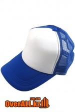 Синяя промо кепка