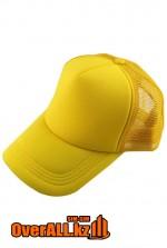 Желтая промо кепка