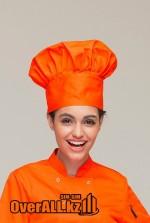 Поварской оранжевый колпак