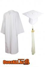 Мантия выпускника, белая