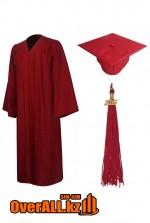 Мантия выпускника, бордовая
