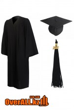 Мантия выпускника, черная