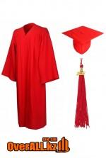 Мантия выпускника, красная