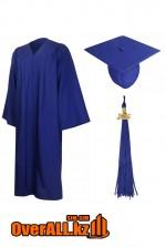 Мантия выпускника, синяя