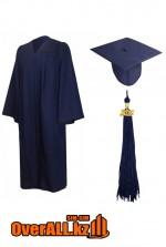 Мантия выпускника, темно-синяя