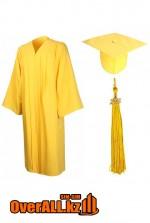Мантия выпускника, желтая