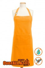Фартук водоотталкивающий, оранжевый
