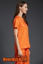 Оранжевый женский медицинский костюм