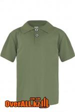 Рубашка поло цвета хаки для детей