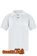 Светло-серая рубашка поло для детей