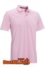 Светло-розовая футболка поло