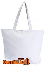 Промо-сумка под нанесение логотипа, белая