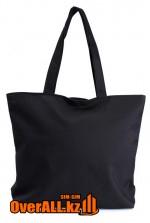 Промо-сумка под нанесение логотипа, черная