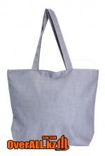Промо-сумка под нанесение логотипа, серая