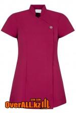 Форменная блузка, фиолетовая