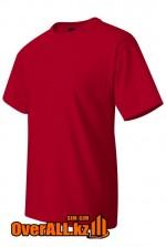 Футболка красная с коротким рукавом
