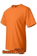 Футболка оранжевая с коротким рукавом