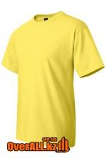Футболка желтая с коротким рукавом