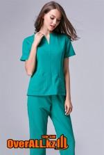 Зеленый женский медицинский костюм